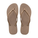 Slim Sandal, Gold