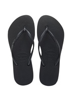 Havaianas Slim Black, A core style that merchandise perfectly back to any collection.
