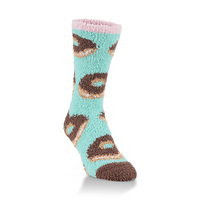 Crescent Socks Cozy Crew Donuts