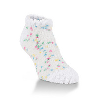 Crescent Socks Cozy Low Birthday Cake