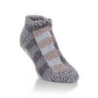 Crescent Socks Cozy Low Shady Plaid