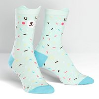 Sock It To Me Bearly Sprinkle Crew Socks