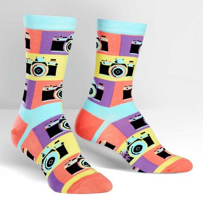Sock It To Me Say Cheese Crew Socks