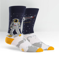 Mens Crew Sock One Giant Leap