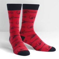 Sock It To Me String Theory Mens Crew Socks