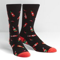 Sock It To Me Hot Sauce Mens Crew Socks