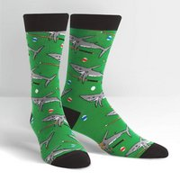 SOCK IT TO ME Pool Shark Mens Crew Socks