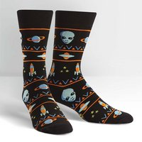 SOCK IT TO ME Alien Sweater Mens Crew Socks