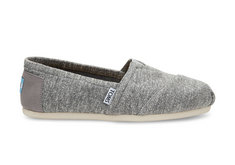 Toms Canvas Womens Classic, Grey Marled
