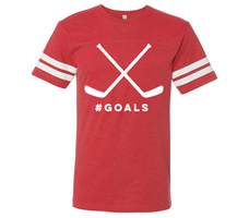 RUBYS RUBBISH GOALS, Ringer Tee