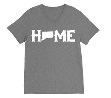 RUBYS RUBBISH Connecticut Home VNeck Tee