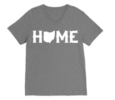 RUBYS RUBBISH Ohio Home VNeck Tee