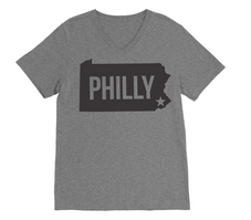 RUBYS RUBBISH Philadelphia City Tee, VNeck