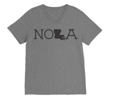 RUBYS RUBBISH New Orleans City Tee, VNeck