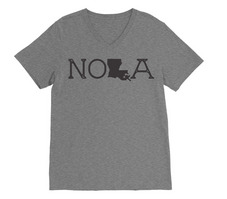 Rubys Rubbish  New Orleans V Neck Tee