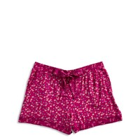 Vera Bradley PJ Shorts Flower Ditsy Dot Rose
