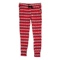Vera Bradley Lounge Pajama Pants Playful Penguins Red Large