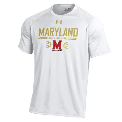 Under Armour Mens University of Maryland Official Warm Up Tee