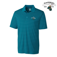College World Series National Champions Franklin Stripe Polo