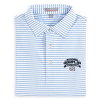 Peter Millar National Champions Competition Stripe Polo