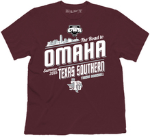 Baseball Road to the College World Series Short Sleeve Tee