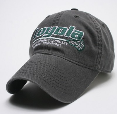 Loyola NCAA Lacrosse National Champions Hat