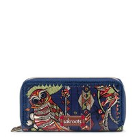 Sakroots Double Zip Wallet