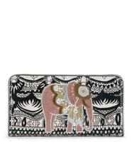 Sakroots Slim Wallet Black & White One World