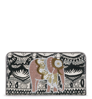 Sakroots Slim Wallet Black and White One World