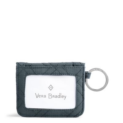 Vera Bradley Iconic RFID Campus Double ID Charcoal