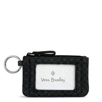 Vera Bradley RFID Zip ID Case Denim Navy