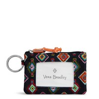 Vera Bradley Lighten Up RFID Zip ID Mini Medallions