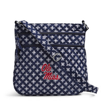 Vera Bradley University of Mississippi Triple Zip Hipster