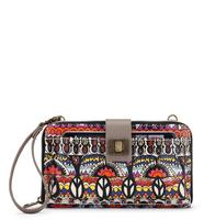 Sakroots Large Smartphone Crossbody Camel One World