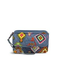 Vera Bradley RFID All In One Crossbody Painted Medallions