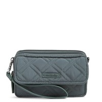 Vera Bradley RFID All In One Crossbody Charcoal