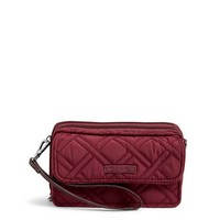 Vera Bradley RFID All In One Crossbody Hawthorn Rose