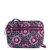 Vera Bradley Iconic Little Crossbody Lilac Medallion