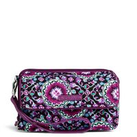 Vera Bradley RFID All in One Crossbody Lilac Medallion