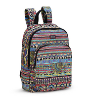 Sakroots Medium Backpack Radiant One World