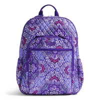 Vera Bradley Campus Tech Backpack, Lilac Tapestry