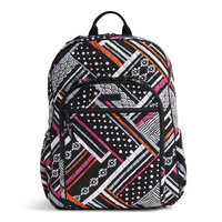 Vera Bradley Campus Tech Backpack, Northern Stripes