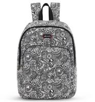 Sakroots Medium Backpack Black and White Spirit Desert