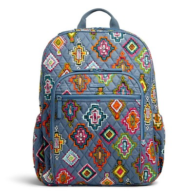 Vera Bradley Campus Tech Backpack Painted Medallions