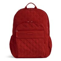 Vera Bradley Campus Tech Backpack Cardinal Red