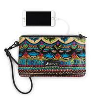 Sakroots Charging Wristlet Radiant One World