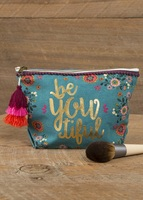 Natural Life Indi Blue Pouch BeYouTiful