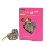 Blingsting Ahh larm Personal Alarm Keychain by Blingsting, Confetti Glitter, 115 decibels