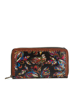 Sakroots Large Wallet (Midnight Treehouse)