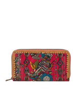 Sakroots Large Wallet (Cherry Spirit Desert)
